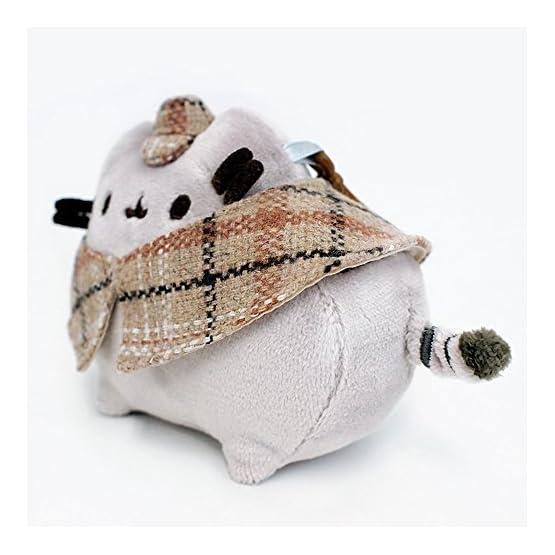 Pusheen Detective Plush   Bag Clip - 4.5 Inches 5