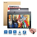 Lenovo YOGA Tablet 3 pro 10 screen protector, KuGi ® Ultra-thin 9H Hardness High Quality HD clear Premium Tempered Glass Screen Protector for Lenovo YOGA Tab 3 pro 10.1 inch tablet (1 pcs)
