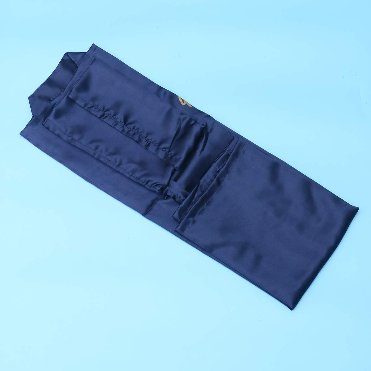 Amosfun Damigella dOnore Donne Camicie da Notte Kimono Robes Party Accappatoio Viola