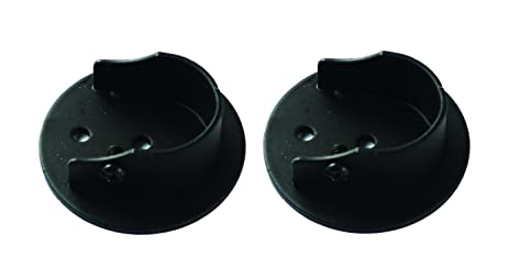 Urbanest Set Of 2 Inside Mount Brackets For 7/8 Inch To 1