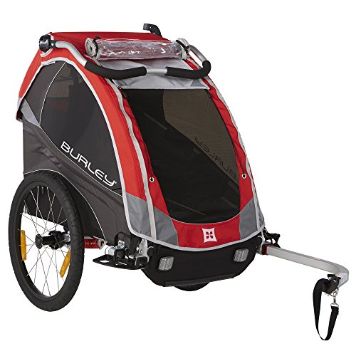 Burley Design Solo Child Bike Trailer, - Burley Child Trailer