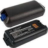 2x Exell EBS-CK70X Li-Ion 3.7V 5200mAh Batteries For Intermec CK70, CK71. Replaces Cameron Sino CS-ICK700BX, INTERMEC 1001AB01, 1001AB02, 318-046-001, 318-046-011