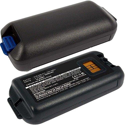 2x Exell EBS-CK70X Li-Ion 3.7V 5200mAh Batteries For Intermec CK70, CK71. Replaces Cameron Sino CS-ICK700BX, INTERMEC 1001AB01, 1001AB02, 318-046-001, 318-046-011 by Exell Battery