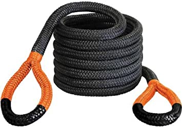 Capacity 7450 lbs Bubba Rope 176650YWG 1//2 x 20 Lil Bubba Breaking Strength Rope with Standard Yellow Eye
