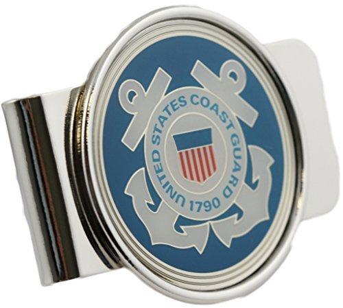 (US Coast Guard Logo Money Clip Military Money Clip)