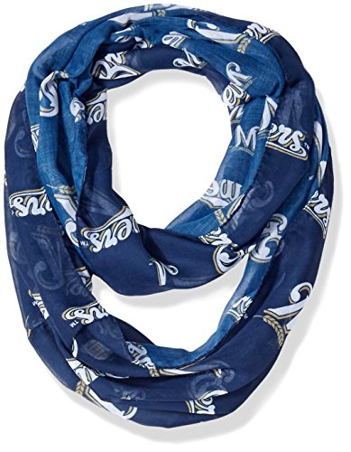 Milwaukee Brewers 2016 Team Logo Infinity Scarf