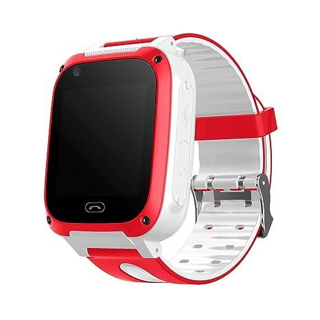 Reloj Elegante para niños Reloj de Pulsera Digital Impermeable Posicionamiento GPS Monitoreo de frecuencia cardía Supervisión