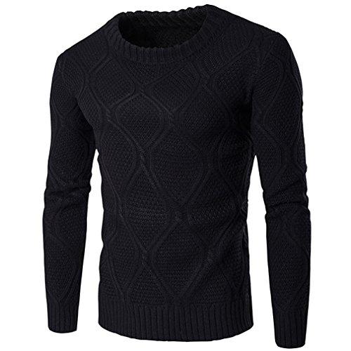 IOODO Sweater Men Knitwear Men O Neck Long Sleeve Pulllvers