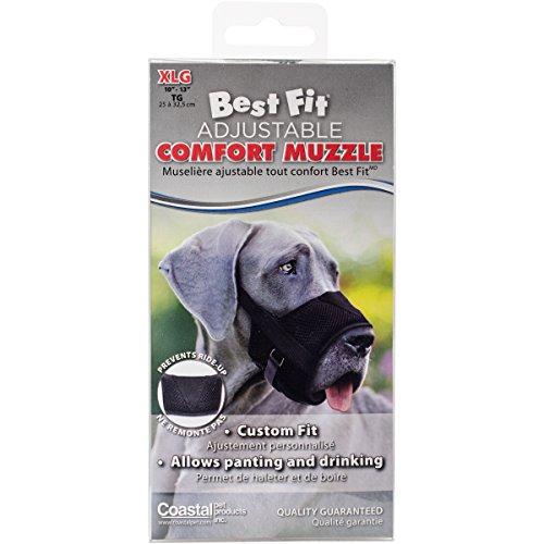 Coastal Pet Products Best Fit Adjustable Comfort Dog Muzzle - -