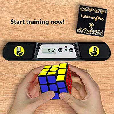 Cornertrace LightningPro: Competition Speed Cube, Durable and Quicker than Original, Best Magic Game Toy for Kids: Toys & Games