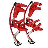 Kids Youth Kangaroo Shoes Jumping Stilts Fitness Exercise, for People Weight (66Lbs~110Lbs/30Kg~50Kg)