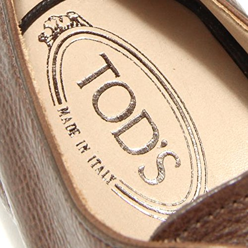 1780G scarpa classica marrone TODS FRANCESINA CUOIO uomo shoes men Marrone