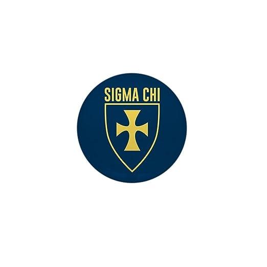 Amazon Cafepress Sigma Chi Logo 1 Round Mini Button Clothing