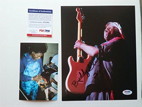 Buddy Guy Rare! signed autographed blues 8x10 photo PSA/DNA coa with PROOF!!