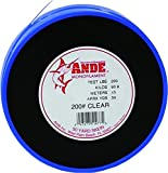 ANDE S50-200C Monofilament Leader Coil, 50-Pound Spool, 200-Pound Test, Clear Finish
