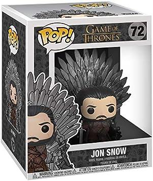 Funko Pop Jon Snow Sitting On Iron Throne Deluxe: Game of Thrones # 72