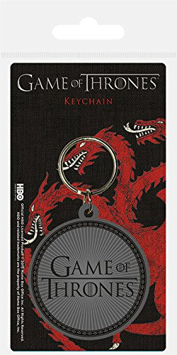 Amazon.com: Game Of Thrones Rubber Keyring - Logo: Automotive