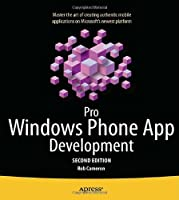Pro Windows Phone App Development, 2nd Edition Front Cover