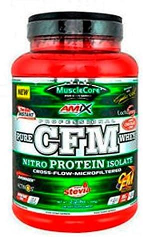 CFM NITRO WHEY WITH ACTINOS 1 KG Doble-chocolate