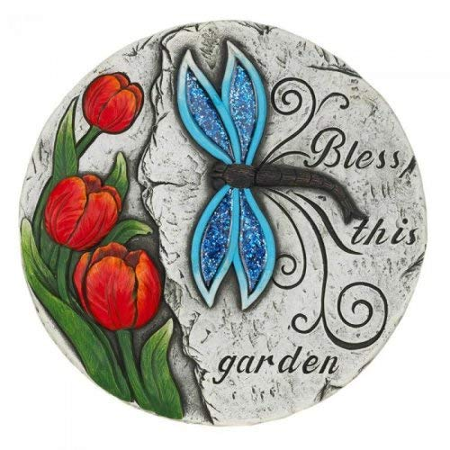 Tom & Co. BLESS THIS GARDEN STEPPING STONE for $<!--$9.84-->