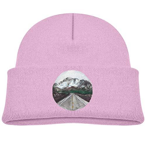 reat Adventure Children's Beanie Hat Cap Cuffed Knit Beanie Hat Pink ()