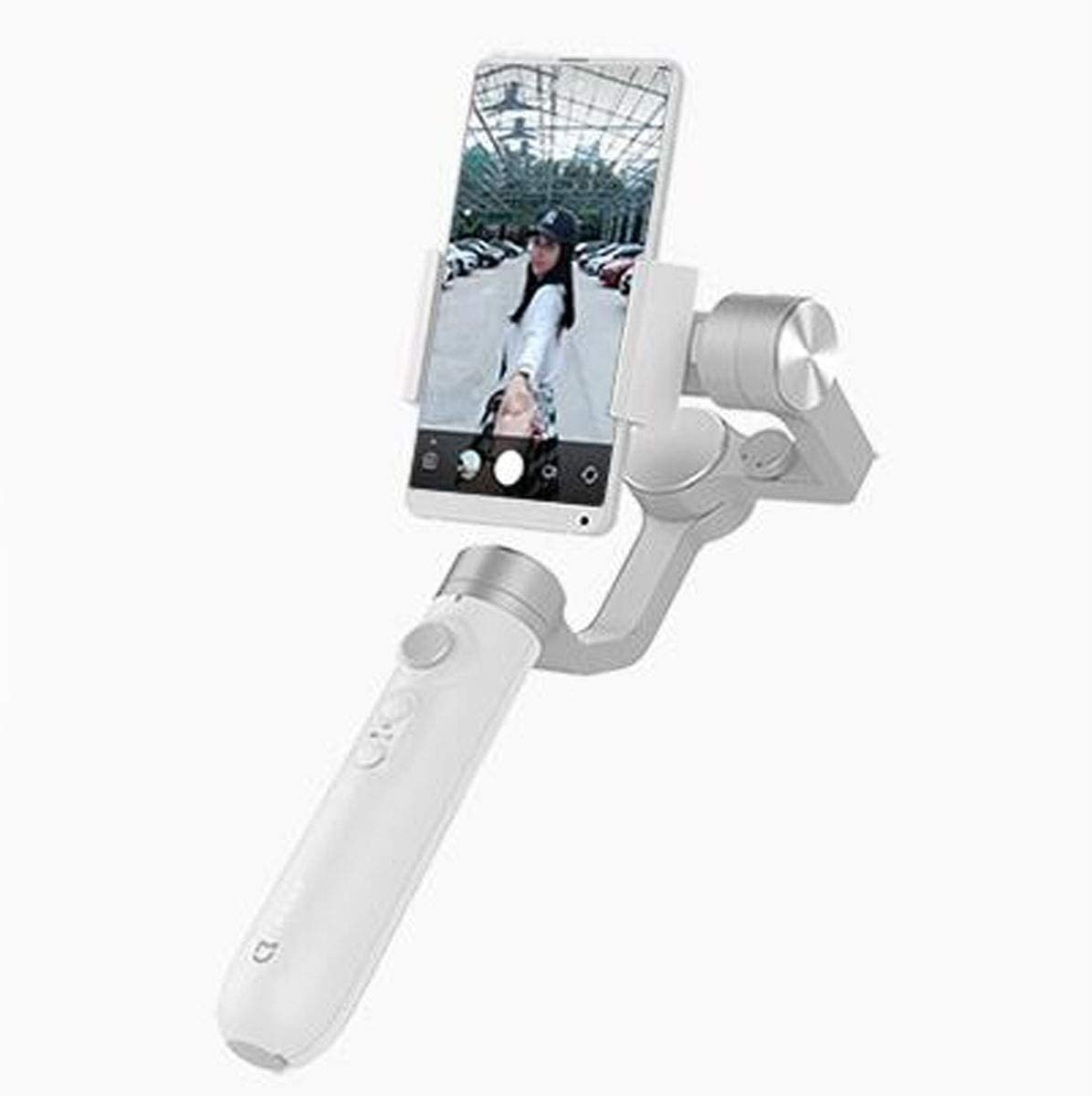 Color : Gray Jiansheng Mobile Phone Stabilizer Handheld 3-axis Stable Rotation Smartphone Self-Timer Live Shooting Video Motion Stabilization Stabilizer