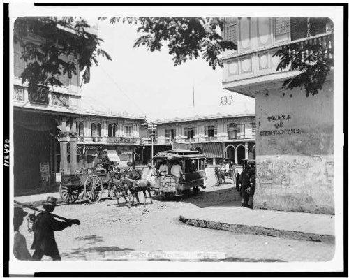 Photo: Street scene, Manila, P.I. Philippines 1899,city (Adult Manila Online)