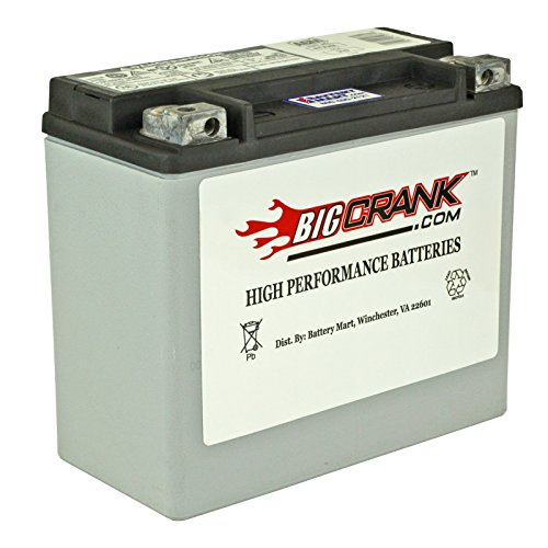 BatteryMart USA-Made Big Crank ETX20L AGM Maintenance Free Battery ()