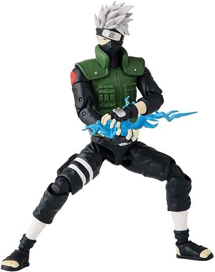Amazon Com Anime Heroes Naruto Hatake Kakashi Action Figure Naruto Wave 1 36903 Toys Games