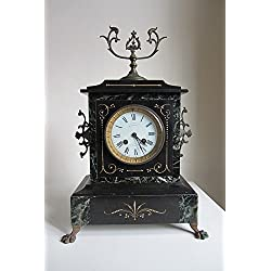 Home Comforts Laminated Poster Timepiece French Mantel Clock Antique Clock Poster Print 24 x 36