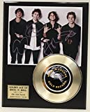 #1: 5 Seconds To Summer Gold Record Signature Series LTD Edition Display