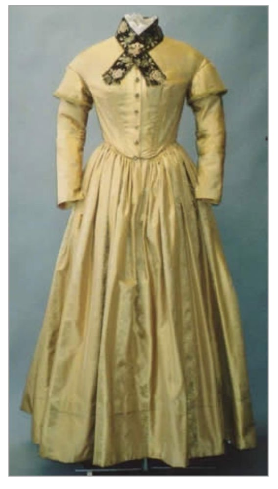 Guide to Victorian Civil War Costumes on a Budget Pattern - Dresses 1840- 1852 Three Bodices with Five Interchangeable Sleeves Pelerine & Under Sleeves Sewing Pattern #114 (Pattern Only) $18.00 AT vintagedancer.com
