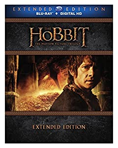 Hobbit: The Motion Picture Trilogy (Extended Edition) [Blu-ray] from New Line Home Video