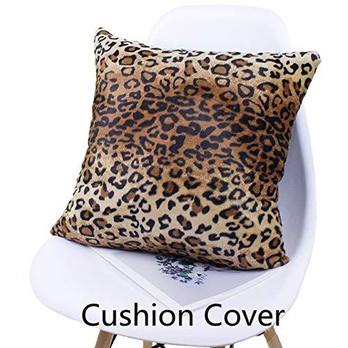 SUPFIK Cojín Animal Zebra Deer Tiger Leopard Plush Throw ...