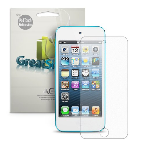 Greatshield Ultra Anti-glare (Matte) Clear Screen Protector Film for Apple iPod Touch 5th / 6th Generation (3 (Screen Protector Fits Ipod)