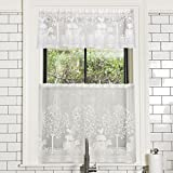 Heritage Lace 6390NA-6024 Farmhouse Tier, Natural, 60″ x 24″