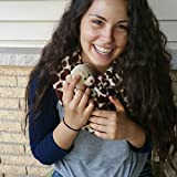 Critter-Cuddler-Small-Animal-Carrier-and-Bonding-Pouch-Anti-Anxiety-Interactive-Play-Exercise-Ring-Therapeutic-for-Pet-Handler-Small-Dog-Cat-Hedgehog-Puppy-Travel-Sling-Made-in-USA
