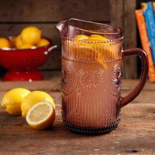 The Pioneer Woman Adeline 1.59-Liter Glass Pitcher, ()