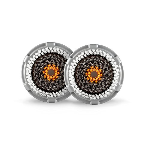 Clarisonic Men's Cleanse Facial Cleansing Brush Head Replacement, Two Pack