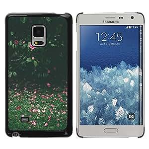 Paccase / SLIM PC / Aliminium Casa Carcasa Funda Case Cover para - Summer Field Green Pink Sunny - Samsung Galaxy Mega 5.8 9150 9152