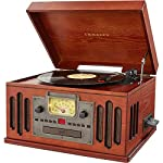 Crosley Musician Turntable with Radio, CD Player, Cassette and Aux-in 6