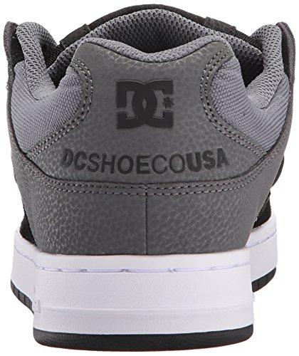 DC Skateboard Shoes MANTECA BLACK/GREY