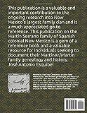 Martin Serrano - A Spanish Colonial Family of New