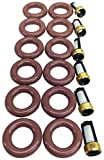2003 bmw 530i fuel filter - UREMCO 4-6 Fuel Injector Seal Kit, 1 Pack