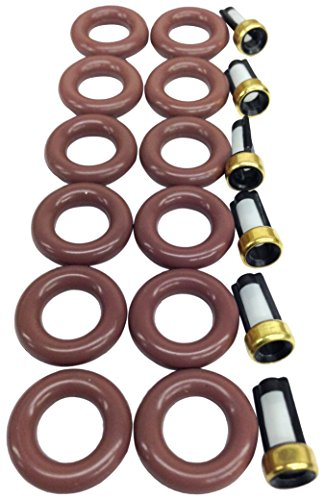 UREMCO 4-6 Fuel Injector Seal Kit, 1 Pack 1 Fuel Injector