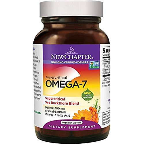 New Chapter Supercritical Omega 7, 60 Softgels (3 Pack) [Health and Beauty] by New Chapter