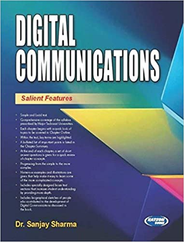 Digital Communication Book By Sanjay Sharma