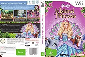 Barbie As The Island Princess By Activision - Nintendo Wii