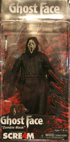 Cult Classics NECA Scream 4 Ghost Face Action Figure [Zombie Mask] -