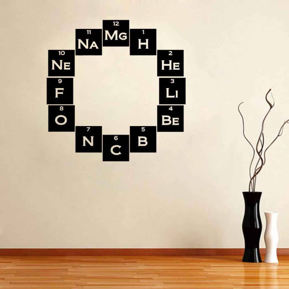 JXWH 56x56cm químico Friki Pegatinas de Pared decoración del hogar ...